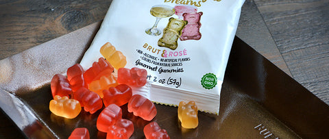 Champagne Dreams Gummy Bears