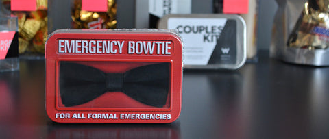 W Hotels Minibar Emergency Bowtie