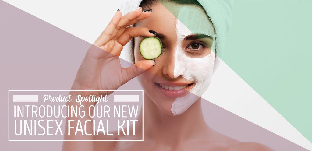 New Unisex Facial Kit In-Room Plus