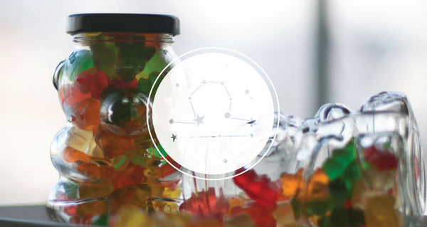 Gummy Bear Jar