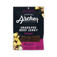 Archer Teriyaki Jerky, 1oz/12ct