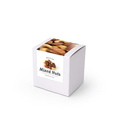 "Deluxe Mixed Nuts, 3"" White Box 48ct/4oz"
