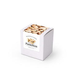 "Pistachios, 3"" White Box 48ct/4oz"