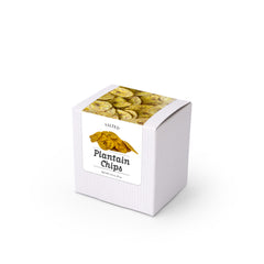 "Plantain Chips, 3"" White Box 48ct/1.5oz"