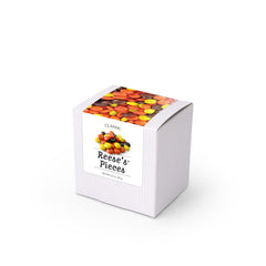 "Reese's® Pieces, 3"" White Box 48ct/3.5oz"
