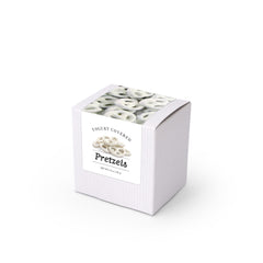 "Pretzels, Greek Yogurt Covered, 3"" White Box 48ct/3.3oz"