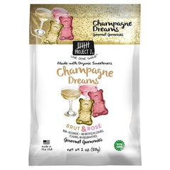 Champagne Dreams Gourmet Gummy Bears, Project 7, 2oz/64ct.