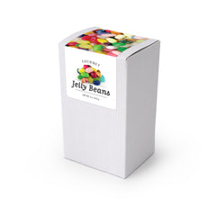 "Jelly Belly, 5"" White Box 48ct/4oz"