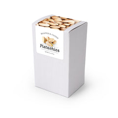 "Pistachios, 5"" White Box 48ct/4oz"