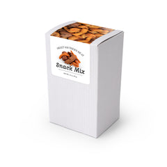 "Sweet Southern Heat Snack Mix, 5"" White Box 48ct/3.5oz"