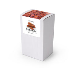 "Almonds, Smoked, 5"" White Box 48ct/4oz"