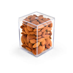 Almonds, Raw, Geo 3 inch 48ct/4.5oz