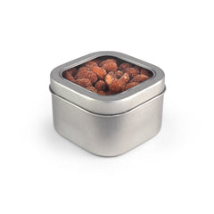 Almonds, Smoked, Tin Square Window Medium 48ct/5.0oz