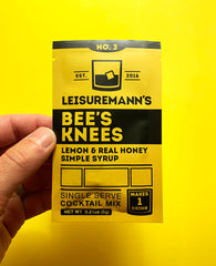 Leisuremann's Single Serve Cocktail Mix, Bee's Knees
