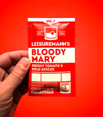 Leisuremann's Single Serve Cocktail Mix, Bloody Mary