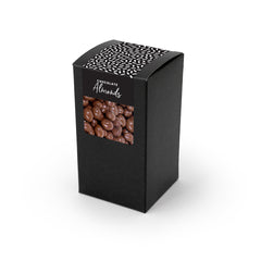 Almonds, Chocolate Covered, Black Box 48ct/4oz
