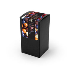 Chocolate Covered Dried Fruit, Black Box 48ct/3.8oz