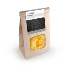 Candied Ginger, Brown Window Bag 24ct/4.5oz