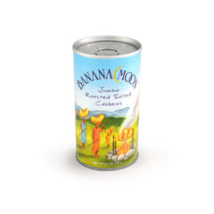 Cashews, Roasted & Salted, Banana Moon Tall Can 48ct/6oz