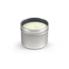 Soy Wax Travel Candle, Tin Round Window Small 48ct/2.5oz