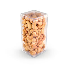 Cashews, Roasted & Salted Geo 5 inch 48ct/6oz