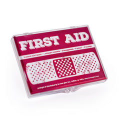 First Aid Kit Plastic Case 100ct