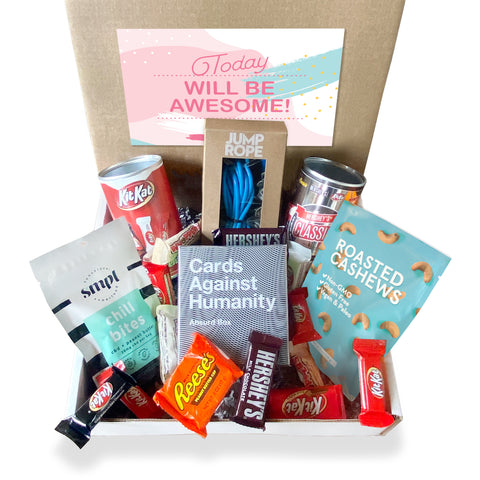 Today will be Awesome Box w/Treat Yourself Label