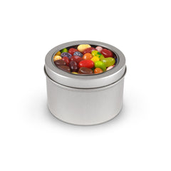 Jelly Beans, Jelly Belly 49 Flavors, Tin Round Window Medium 48ct/8.3oz