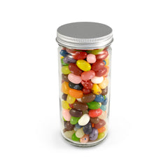 Jelly Beans, Jelly Belly 49 Flavors, Tall Flint Jar 24ct/8.2oz