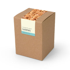 Cashews, Roasted & Salted, Kraft Box 48ct/4.0oz