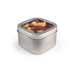 Deluxe Mixed Nuts, Tin Square Window 48ct/5oz