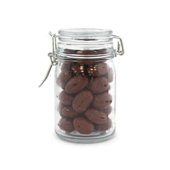 Almonds, Chocolate Covered, Wire Jar 24ct/6.2oz