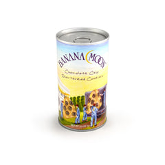 Chocolate Chip Shortbread Cookies, Banana Moon Tall Can 48ct/2.0oz