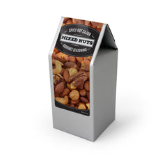 Deluxe Mixed Nuts, Cajun Spice, Silver Box 48ct/3.5oz