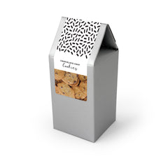 Cookies, Bite Size Chocolate Chip, Silver Tent Box 48ct/2oz