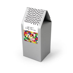 Jelly Beans, Jelly Belly 49 Flavors, Silver Tent Box 48ct/4oz
