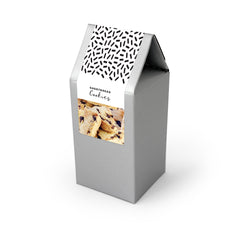 Cookies, Chocolate Chip Shortbread, Silver Tent Box 48ct/2.0oz