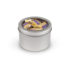 SNICKERS® Minis, Tin Round Window Medium 48ct/3.6oz