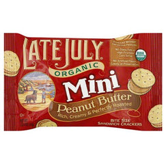 Late July Mini Peanut Butter Sandwich 32ct/1.13oz
