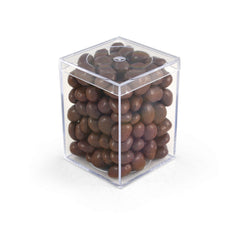 "Raisins, Chocolate Covered, 3"" Geo, 48ct/5.6oz"