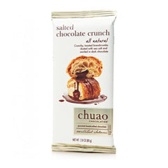 Chuao Bar Salted Chocolate Crunch 144ct/2.82oz