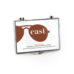 Couples Kit Plastic Case with Custom Logo 100ct