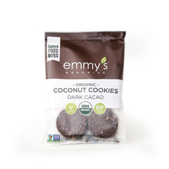 Emmy's Organic Dark Cacao Macaroons 72ct/2oz