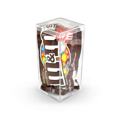 M&M'S® Milk Chocolate, Geo 5 inch 48ct/3.48oz