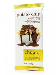 Chuao Bar Chocolate Potato Chip 144/2.8oz