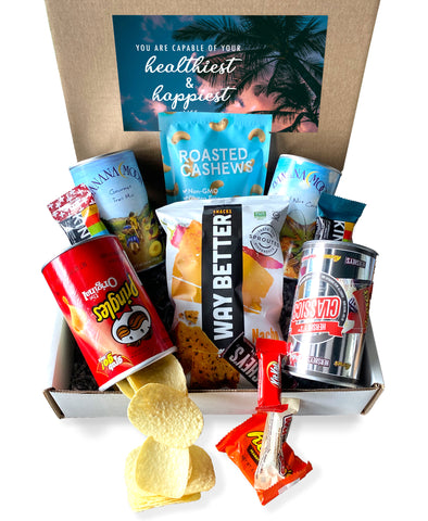 Snack Attack Box w/Health & Happiness Label