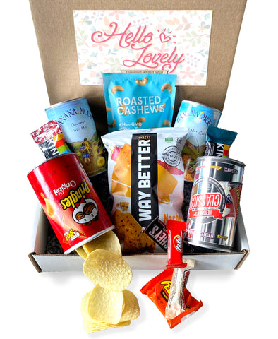 Snack Attack Box w/Hello Lovely Label
