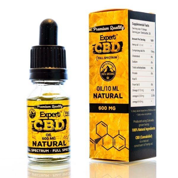 CBD Oil Ireland 600 MG Natural Flavour