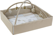 roba Baby Nest 4in1 'Tierfreunde', Wickelauflage, Spieldecke, Activity Center & Laufgittereinlage