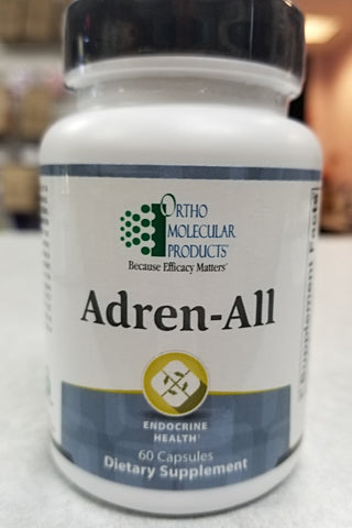 Adrenal Support, Adren-All #60 Caps
